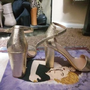 a new day Accessories - Golden Chunk heels